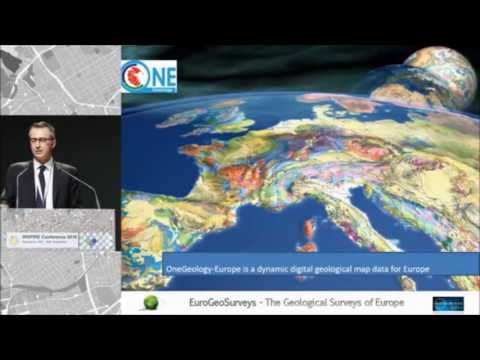 EuroGeoSurveys Secretary General Mr Demicheli at INSPIRE Conference 2016