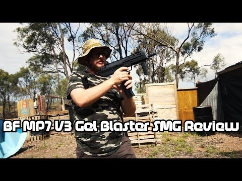 BF MP7 V3 Gel Blaster Review - Out With The Old?...