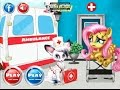 My Little Pony Games - Little Fluttershy At The Hospital – Best Pony Games For Girls And Kids