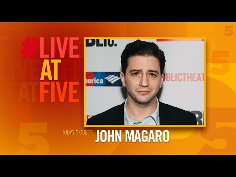 Broadway.com LiveatFive with John Magaro of ILLYRIA