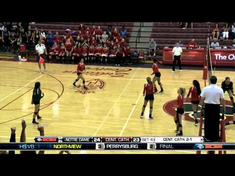 Notre Dame Academy at Central Catholic Volleyball