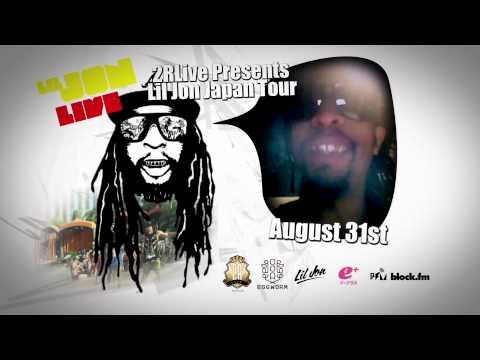 Lil Jon Summer Japan Tour Aug 31st to Sep 2nd 2012