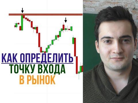 Правила входа в сделку. Как определить точку входа в рынок?
