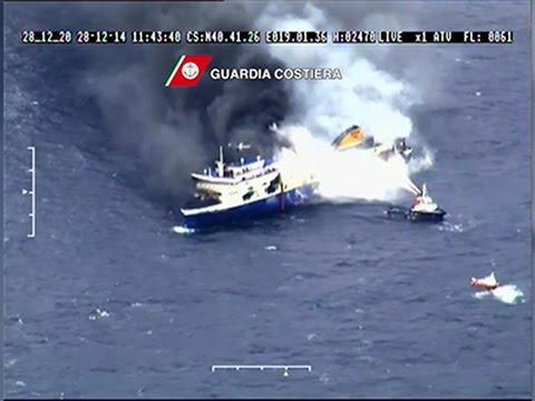 Multiple Deaths in Greek Ferry Fire