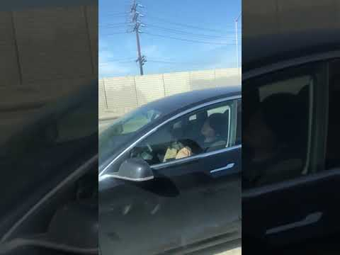 Woody and Wilcox - This Tesla Driver Is Caught Sleeping While Driving