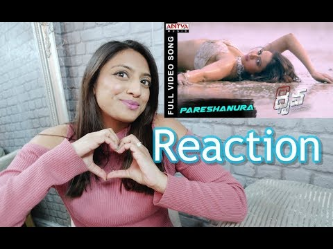 REACTION OF Pareshanura Full Video Song || Dhruva Movie RamCharanTej Rakul Preet