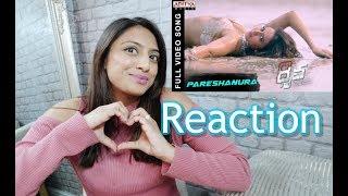 REACTION OF Pareshanura Full Video Song || Dhruva Movie RamCharanTej Rakul Preet