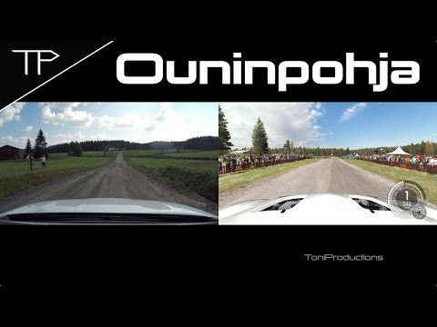 DiRT Rally - Ouninpohja 2016 full stage comparison