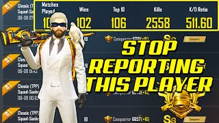 THIS IS MOST REPORTED PLAYER IN PUBG MOBILE FOR CHEATING! PUZZLE MONTAGE