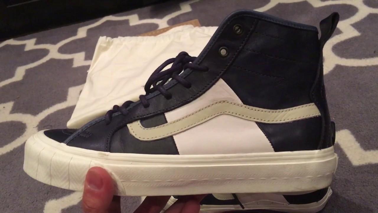 5bd1ad725e Shoe Review  Vans Vault x Taka Hayashi TH Court HI - Insignia Blue ...