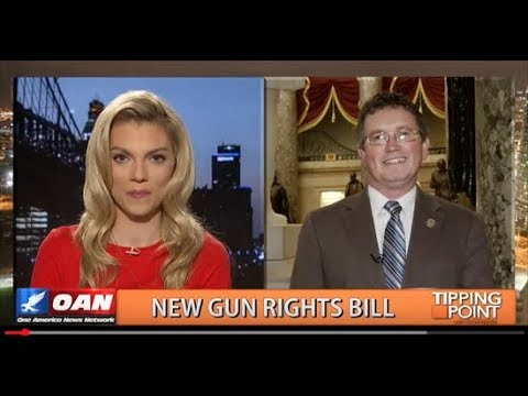 Thomas Massie discusses gun control on One America Network