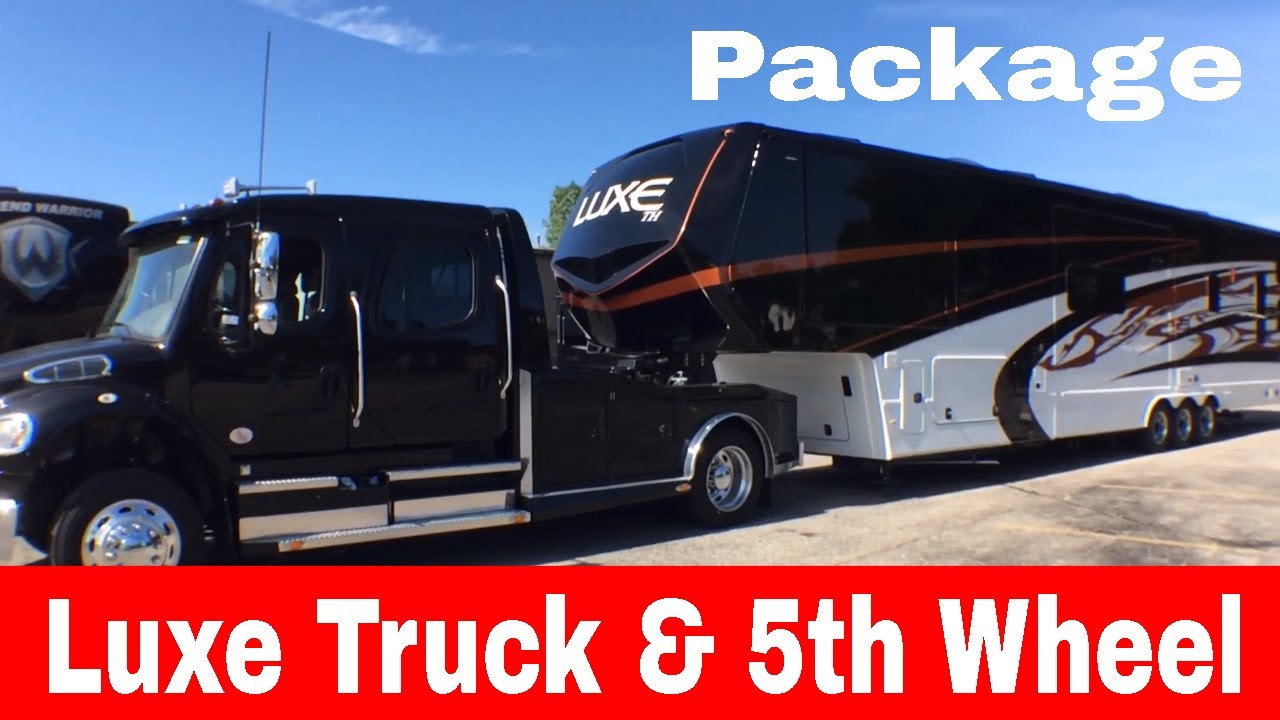 The Whole Package Luxe Trucks Luxe Luxury Toy Haulers And Fifth Wheels