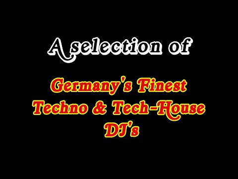 Germany's Finest Techno & Tech-House DJ's - A Selection (Paul Kalkbrenner, Moderat, Solomun & More)