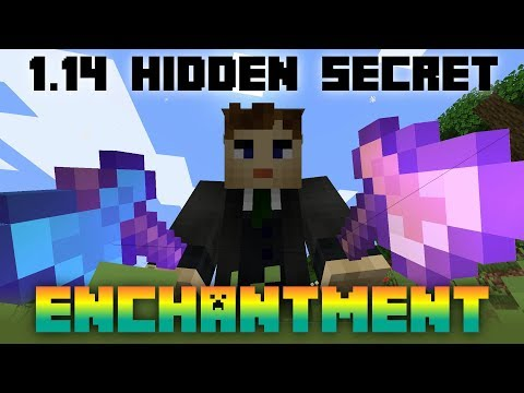 Secret Hidden Changes In Minecraft 1.14 - New Enchantment