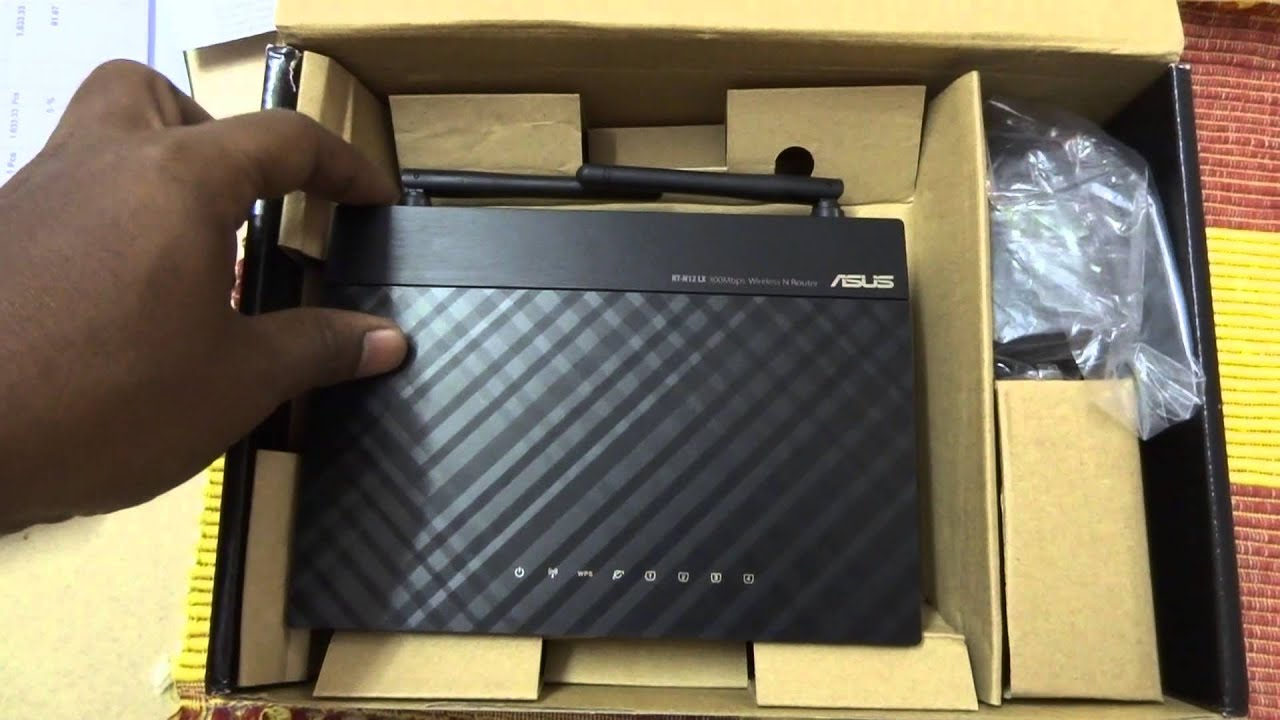 New Drivers: Asus RT-N12LX Wireless Router