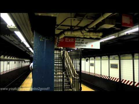 NYCTA Station Tour: Fulton Street Station (w/Peek of the New Fulton Transit Center Outside)