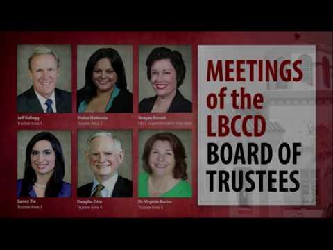 LBCCD - Board of Trustee Meeting - July 25, 2017