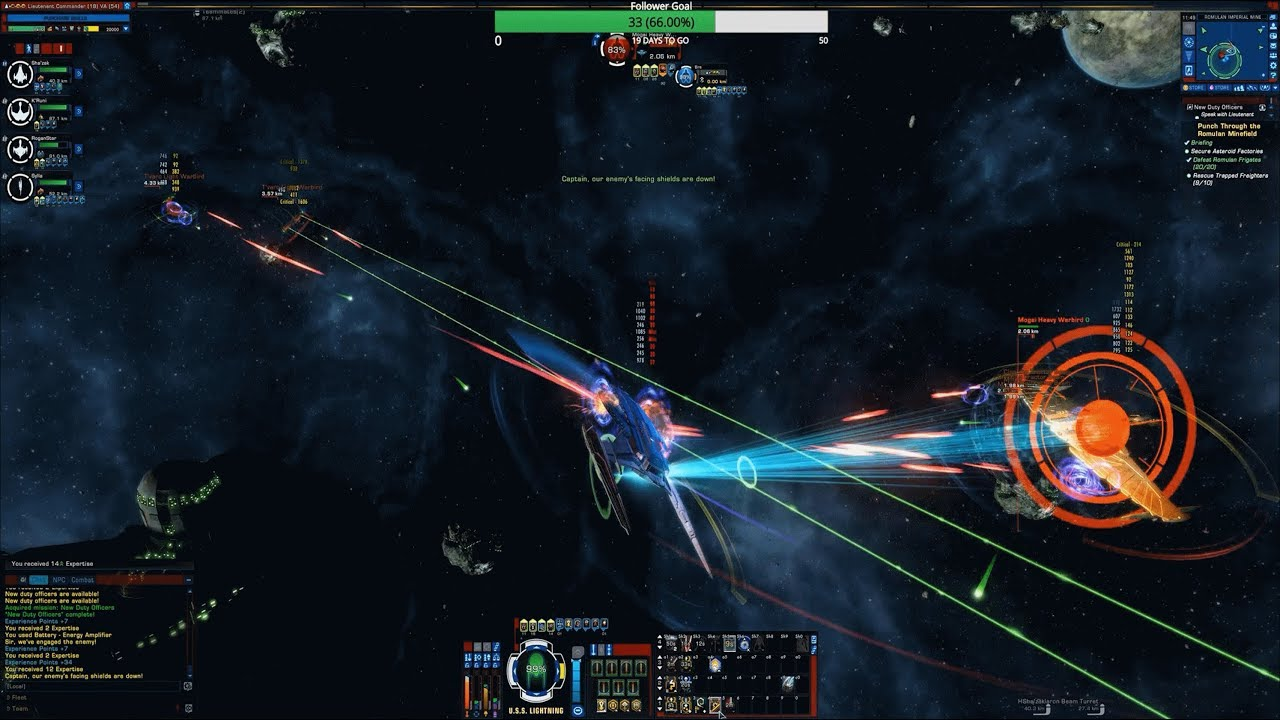 Targeting Linked Weapons Overview Star Trek Online Youtube