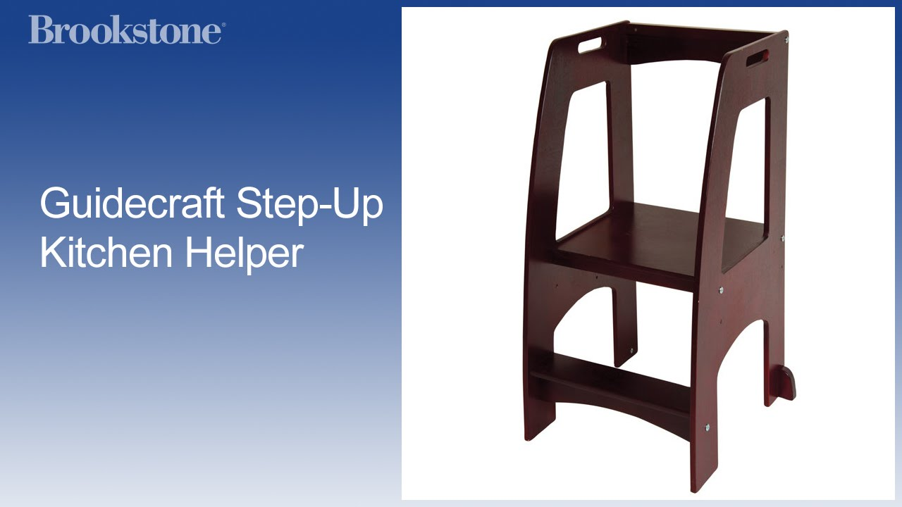 Guidecraft Kitchen Helper Step Stool Youtube