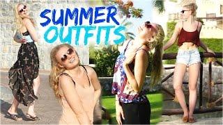 OUTFIT IDEEN für heiße Sommertage! Schule, Urlaub & Freizeit!