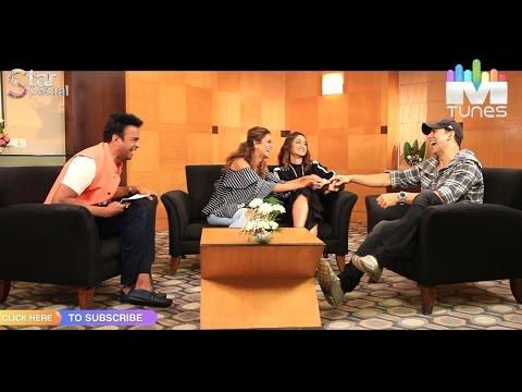 Akshay kumar, Illeana D'Cruz & Esha Gupta talk about 'Rustom' Exclusively Only on MTunes HD