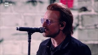 "U2 - ""You're the Best Thing About Me"" e ""Get Out of Your Own Way"" - Che tempo che fa 10/2/2017"