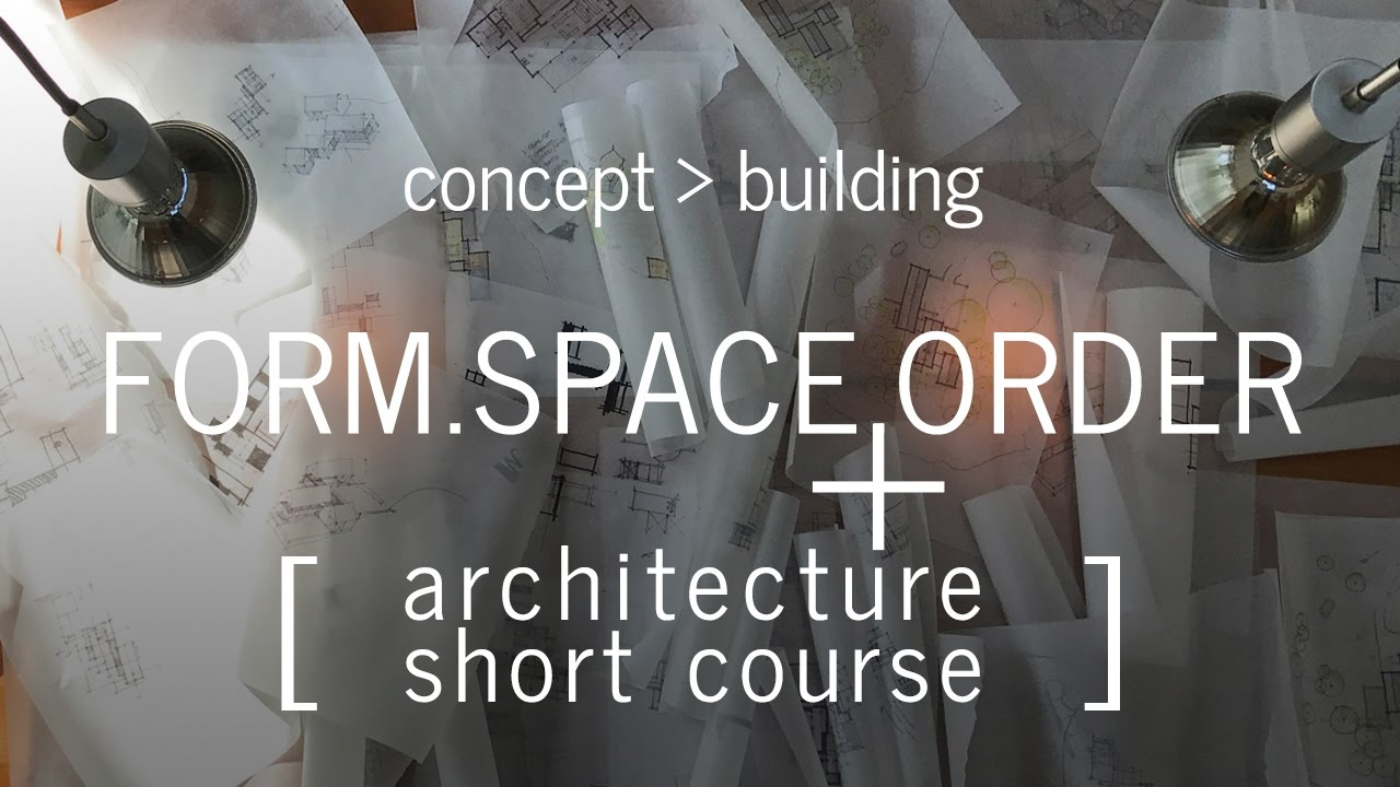 developing the architectural concept architecture short course