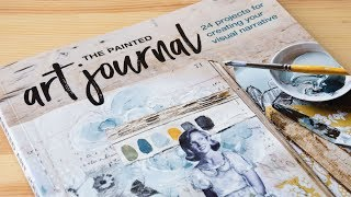 Book Review: The Painted Art Journal by Jeanne Oliver