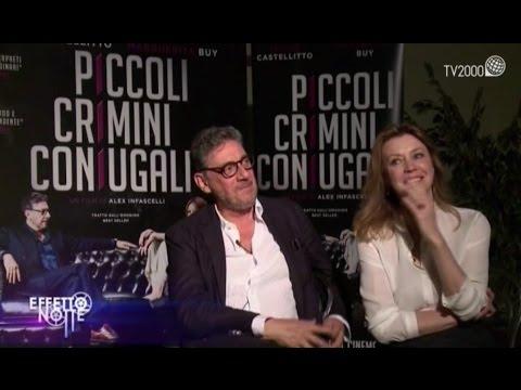 """Sergio Castellitto e Margherita Buy raccontano """"Piccoli crimini coniugali"""""""
