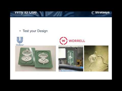 Webinar: Using Stratasys Polyjet 3D Printing Technology For Injection Molding