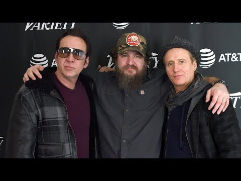"Nicolas Cage and Linus Roache on ""Mandy"" Mp3"
