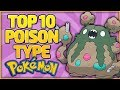 Top 10 Poison Type Pokémon