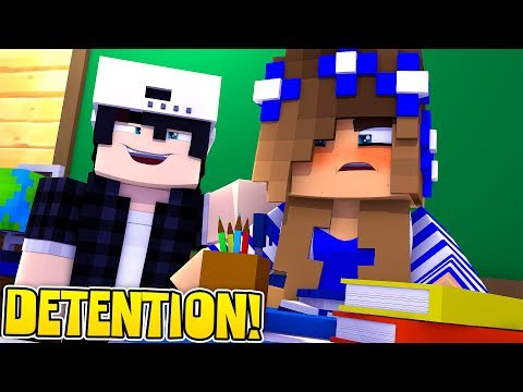 LITTLE CARLY'S BROTHER  GETS HER DETENTION!! w/Raven (Minecraft Roleplay).