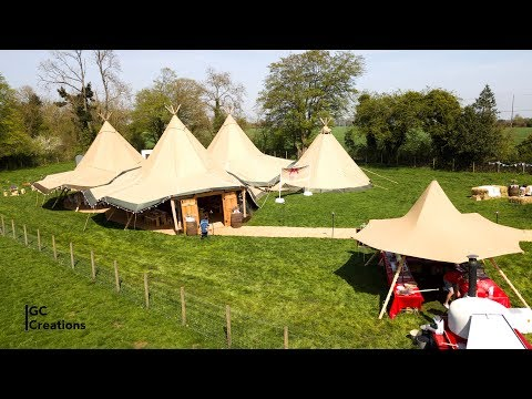 Wedding Open Day  ||  Knockwood Bespoke Receptions & My Tipi Event