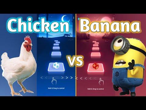Tiles Hop - J. Geco - Chicken Song VS Minions Banana Theme Song | V Gamer indir