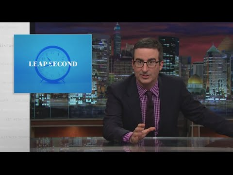 Leap Second: Last Week Tonight with John Oliver (HBO)