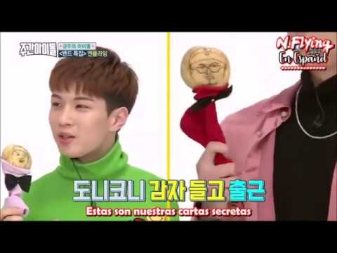 [Sub ESP] N.Flying x DAY6 en Weekly Idol 1/2