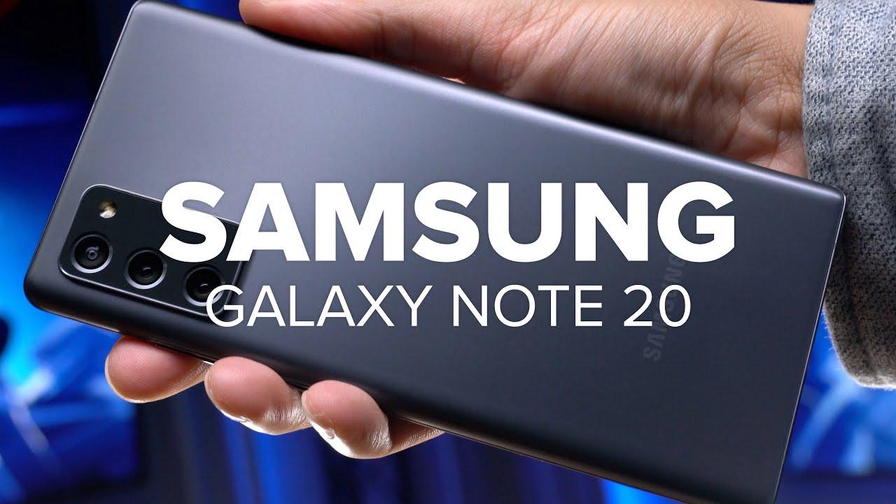 Weniger ist mehr! | Samsung Galaxy Note 20 im Test | Computer Bild [deutsch]