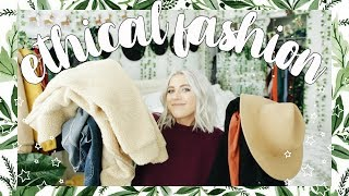 Ethical Clothing Try On Haul | QUITTING FAST FASHION