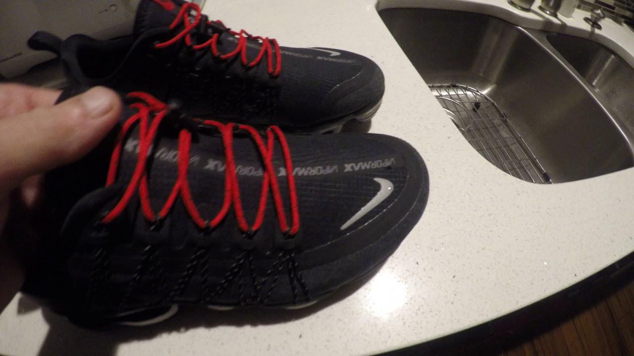 e7dbd92bf3f7 4K Nike Air Vapormax Run Utility Mens Review Waterproof !!!! - YouTube
