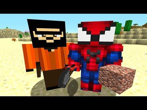 Recep İvedik Örümcek Adam Gardaşını Bulur - Minecraft Zengin Vs Fakir Recep İvedik