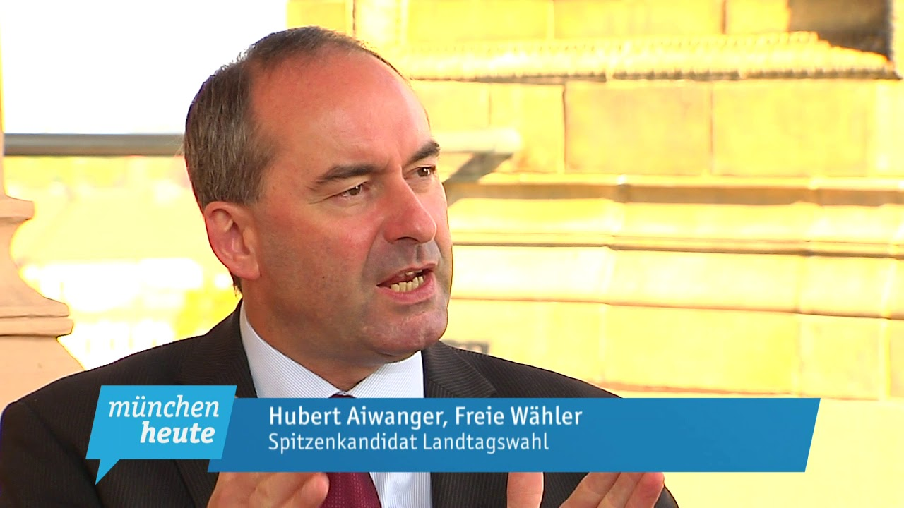 Hubert Aiwanger Apfelsaft