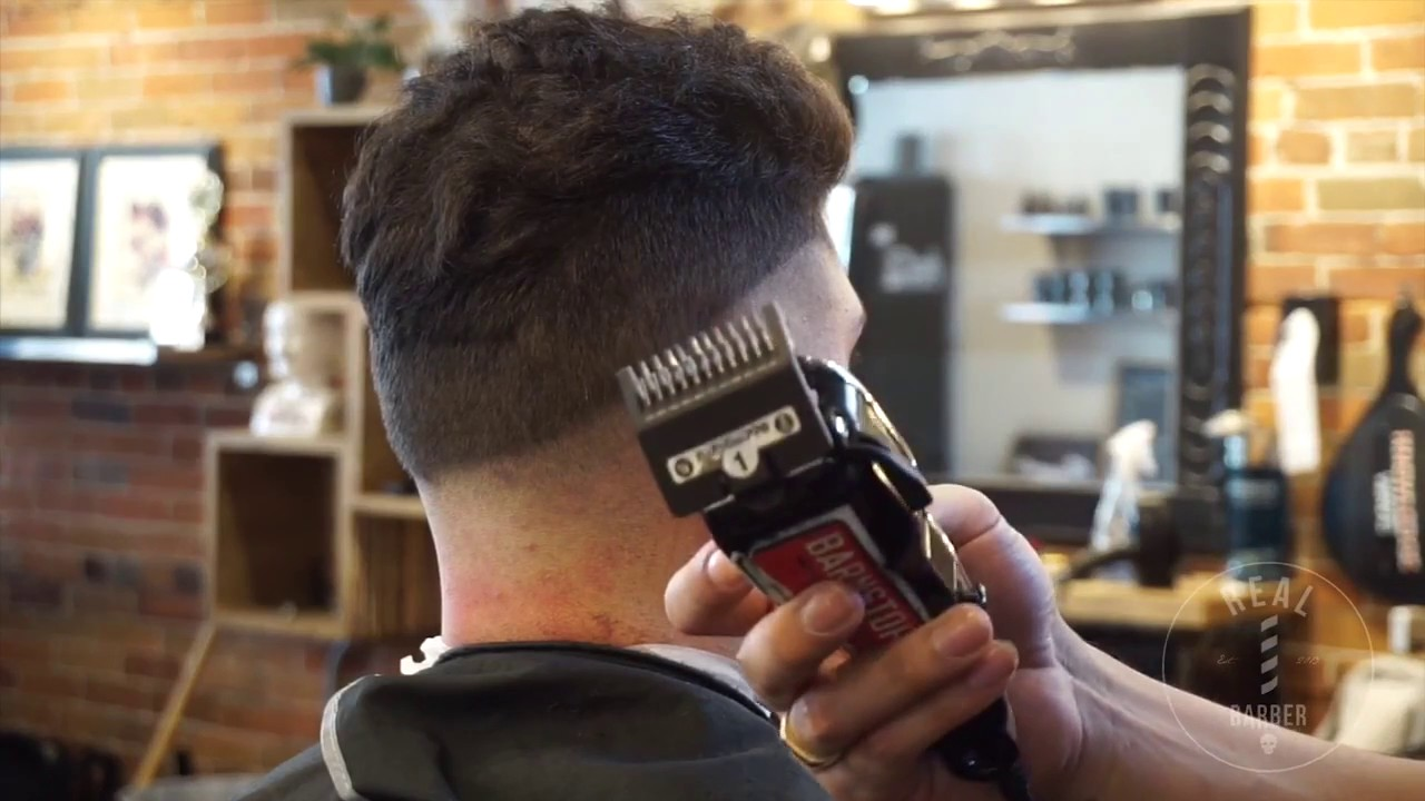 Mens Haircut Tutorial How To Do A Fade Step By Step Promo Youtube