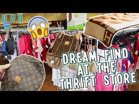 DREAM FIND AT THE THRIFT STORE | THRIFT VLOG S2.E19