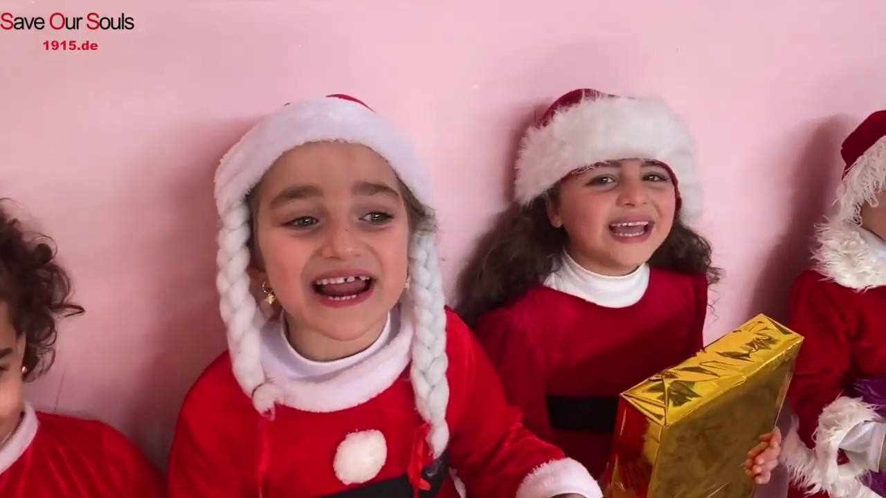 186 - Over 200 Christmas gifts to Qaraqosh Kindergarden & Mar Yaqo Church
