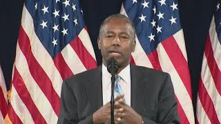 Ben Carson introduces President Trump at 'Black Voices for Trump' rally in Atlanta