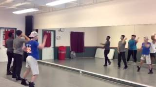 Thriller rehearsal