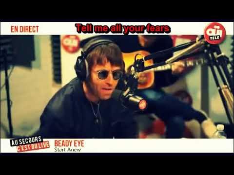 Beady Eye   Start Anew + Lyrics