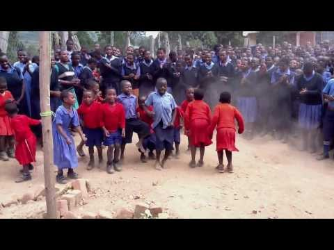 Kindergarteners from New Times Welcome Us with Rukiga Dance in Kishanje, Uganda