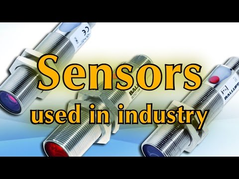 Sensors used in industry